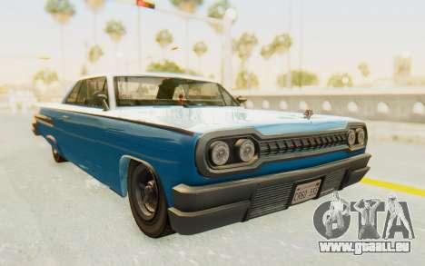 GTA 5 Declasse Voodoo PJ für GTA San Andreas rechten Ansicht