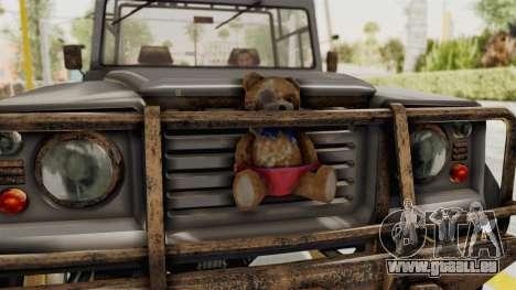 GTA 5 Canis Bodhi Trevor für GTA San Andreas Rückansicht