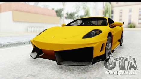 Ferrari F430 SVR für GTA San Andreas rechten Ansicht