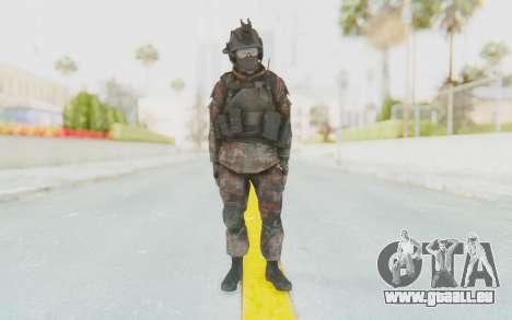 COD MW2 Russian Paratrooper v1 pour GTA San Andreas deuxième écran
