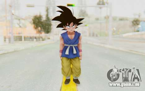 Dragon Ball Xenoverse Goku Kid GT SJ für GTA San Andreas zweiten Screenshot