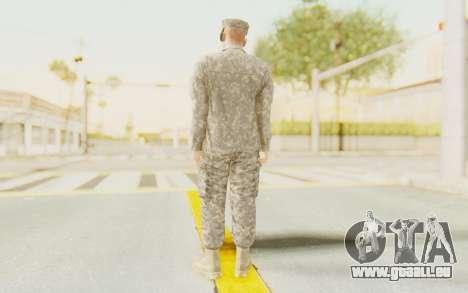 Military Casual Outfit pour GTA San Andreas troisième écran