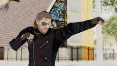 MGSV Phantom Pain BIG BOSS Leather Jacket