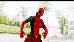 Marvel Heroes - Lady Deadpool pour GTA San Andreas