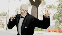 Skeleton in Tuxedo