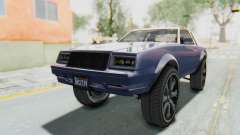 GTA 5 Willard Faction Custom Donk v3 IVF pour GTA San Andreas