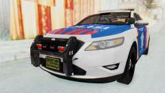 Ford Taurus Indonesian Traffic Police