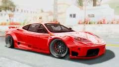 Ferrari 360 Modena Liberty Walk LB Perfomance v2 für GTA San Andreas