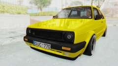 Volkswagen Golf Mk2 Lemon