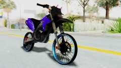 Kawasaki KLX150S Thailock Style pour GTA San Andreas