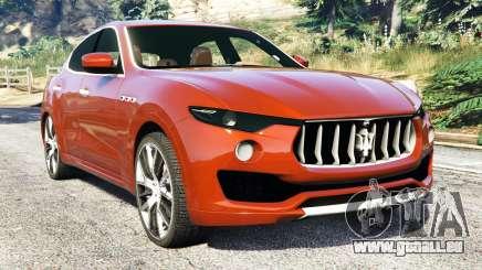 Maserati Levante 2017 pour GTA 5