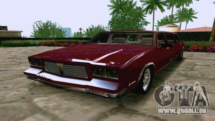 Tahoma Limousine v2.0 (HD) für GTA San Andreas