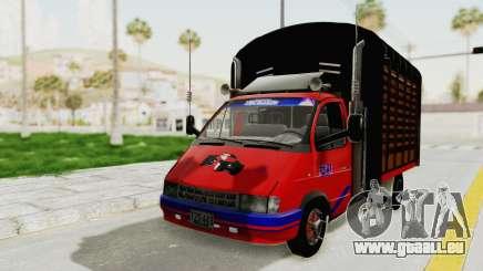 GAZelle 33021 Stylo Colombia pour GTA San Andreas