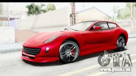 GTA 5 Grotti Bestia GTS IVF für GTA San Andreas
