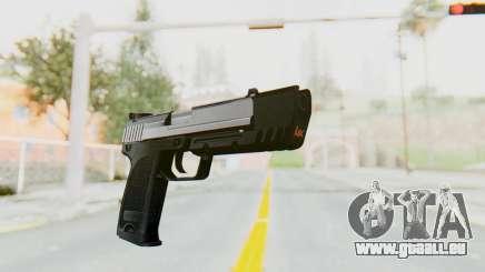 HK USP 45 Chrome für GTA San Andreas