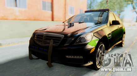 Mercedes-Benz E63 German Police Green pour GTA San Andreas