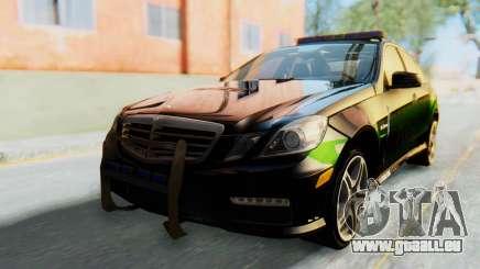 Mercedes-Benz E63 German Police Green für GTA San Andreas