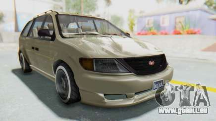 GTA 5 Vapid Minivan Custom without Hydro IVF für GTA San Andreas