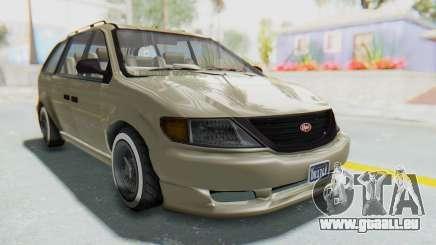 GTA 5 Vapid Minivan Custom without Hydro IVF für GTA San Andreas