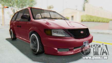 GTA 5 Vapid Minivan Custom without Hydro für GTA San Andreas
