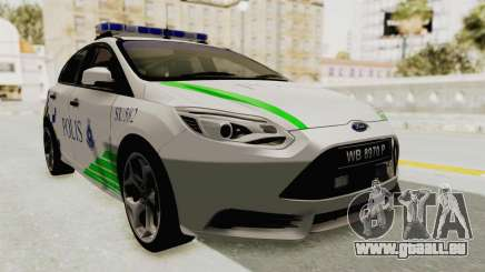 Ford Focus ST 2013 PDRM pour GTA San Andreas