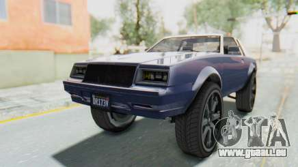 GTA 5 Willard Faction Custom Donk v3 IVF für GTA San Andreas
