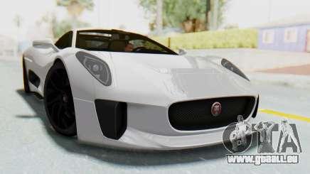Jaguar C-X75 für GTA San Andreas