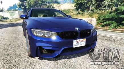 BMW M4 2015 v0.01 pour GTA 5