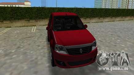 Renault Logan pour GTA Vice City