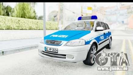 Opel Astra G Variant Polizei Hessen pour GTA San Andreas