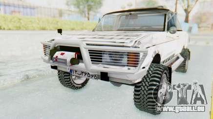 Ikco Super Peykan Pickup pour GTA San Andreas