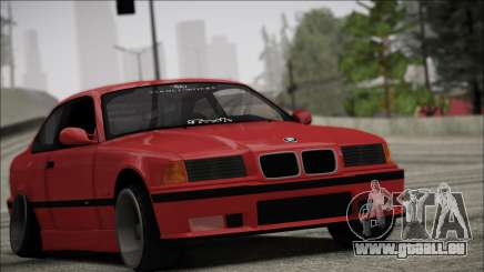 BMW E36 Stance pour GTA San Andreas