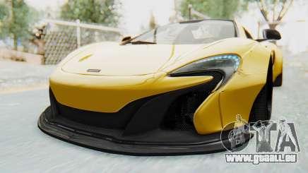 McLaren 650S Spyder ZenWorks für GTA San Andreas