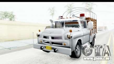 Chevrolet 3100 Diesel v2 pour GTA San Andreas