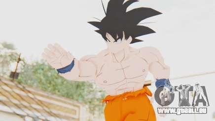 Dragon Ball Xenoverse Goku Shirtless SJ pour GTA San Andreas