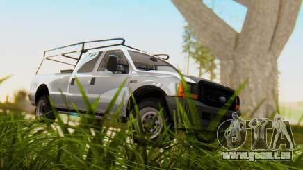 Ford F-250 XL 2002 pour GTA San Andreas