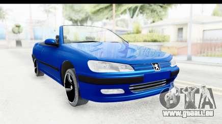 Peugeot 406 Cabrio Beta 0.8.3 pour GTA San Andreas