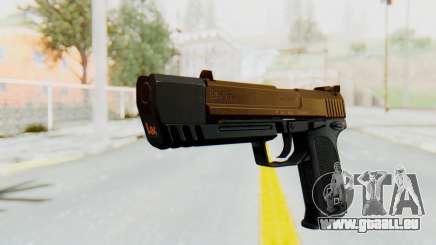 HK USP 45 Sand Frame für GTA San Andreas