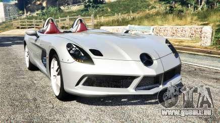 Mercedes-Benz SLR McLaren 2009 pour GTA 5