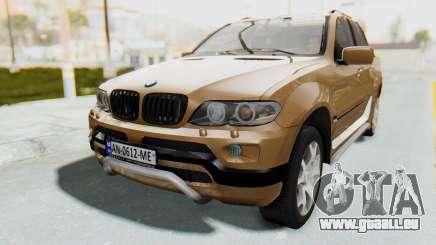 BMW X5 Pickup pour GTA San Andreas