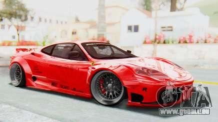 Ferrari 360 Modena Liberty Walk LB Perfomance v2 pour GTA San Andreas