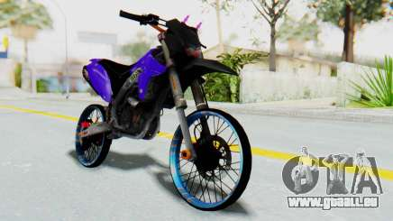 Kawasaki KLX150S Thailock Style für GTA San Andreas