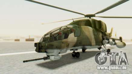 WZ-19 Attack Helicopter Asian pour GTA San Andreas