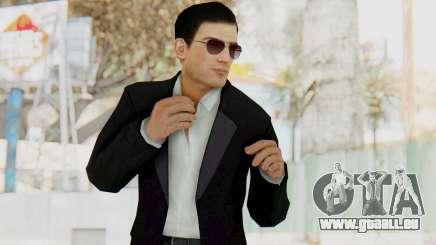 Mafia 2 - Vito Scaletta Madman Suit B&W für GTA San Andreas