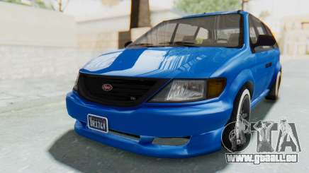 GTA 5 Vapid Minivan Custom für GTA San Andreas