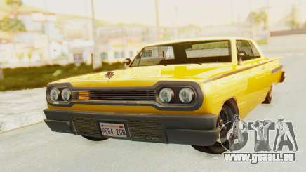 GTA 5 Declasse Voodoo PJ SA Lights für GTA San Andreas