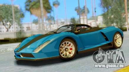 GTA 5 Grotti Cheetah SA Lights für GTA San Andreas