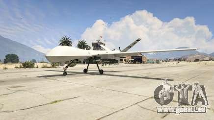 MQ-9 Reaper UAV 1.1 pour GTA 5