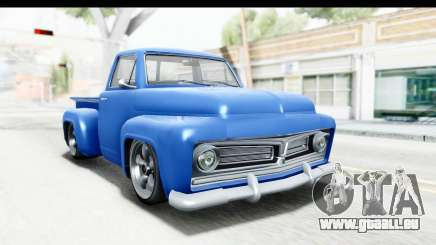GTA 5 Vapid Slamvan without Hydro IVF pour GTA San Andreas