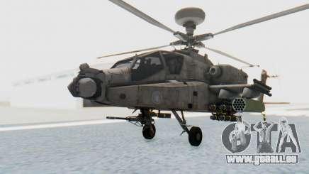 AH-64 Apache Desert für GTA San Andreas